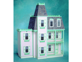 Front-Opening Alison Jr. Dollhouse Kit