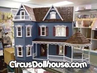 Glenwood Milled Plywood Kit Circus Dollhouse