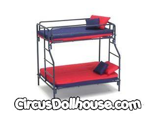Metal Pipe Bunkbed Blu Cb Circus Dollhouse