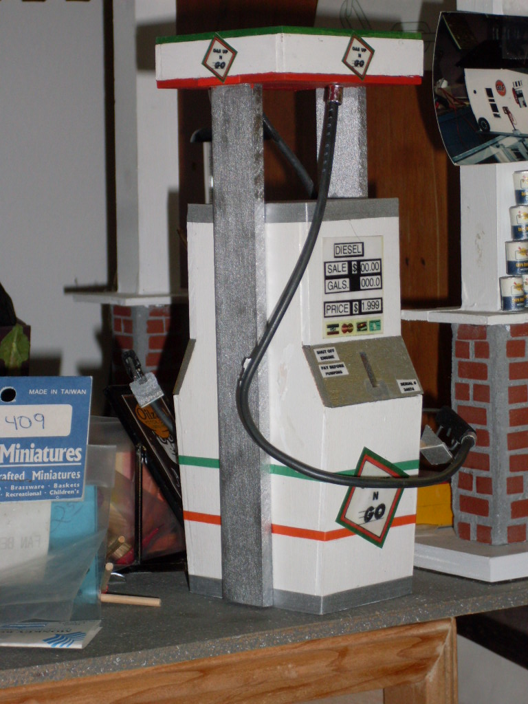 Gas Pump Circus Dollhouse Doll House Wiring