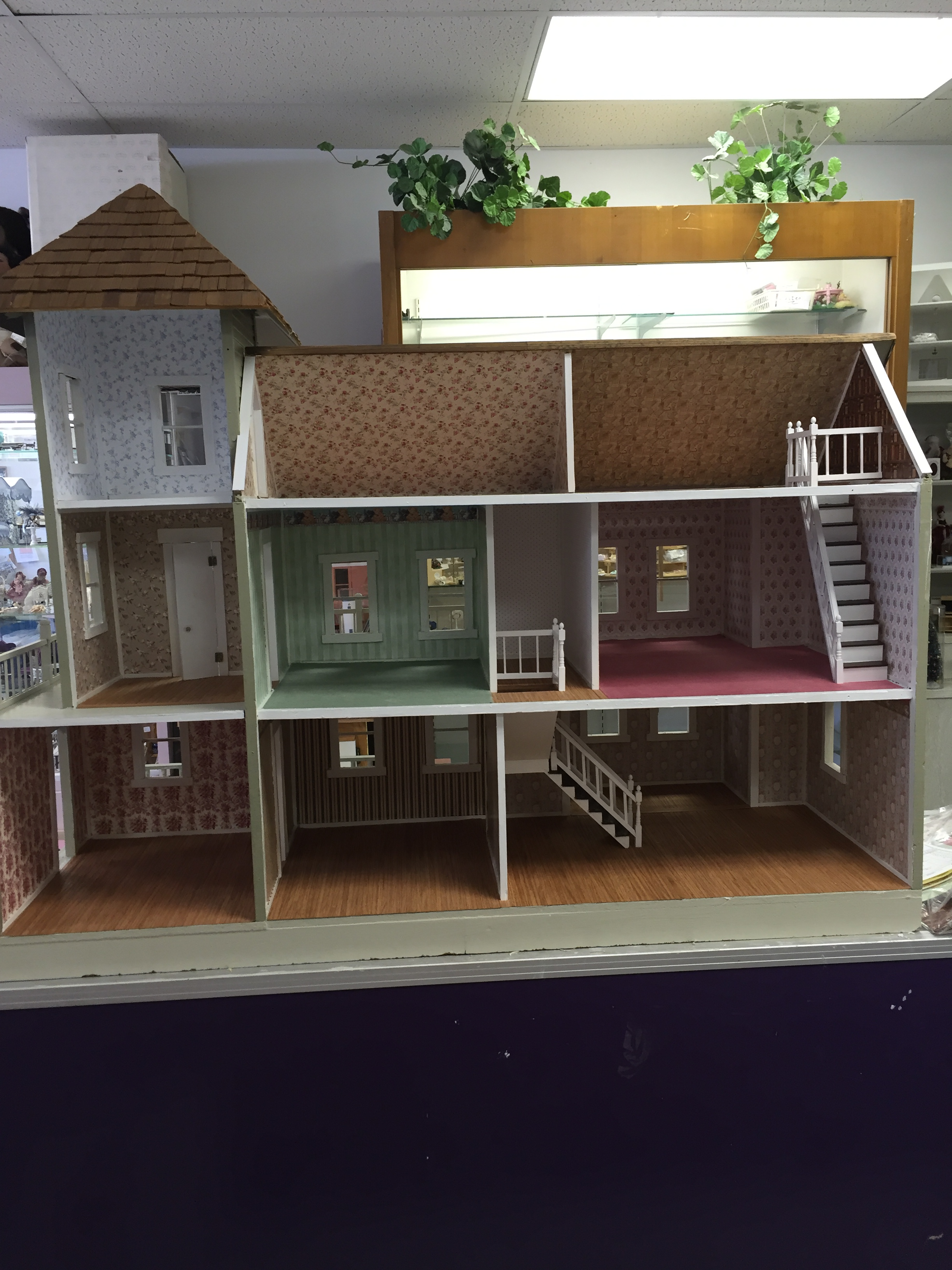 Renovation before and after circus dollhouse for Renovation projects before and after