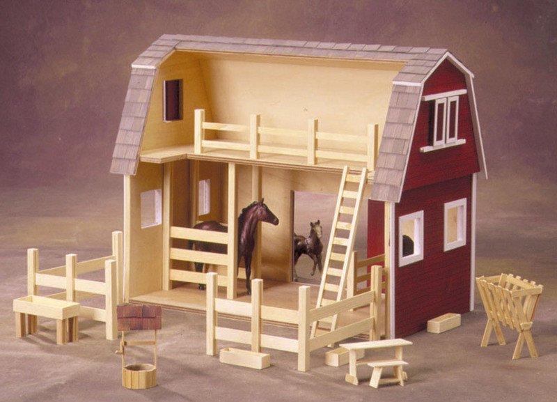 All American Barn Kit Circus Dollhouse