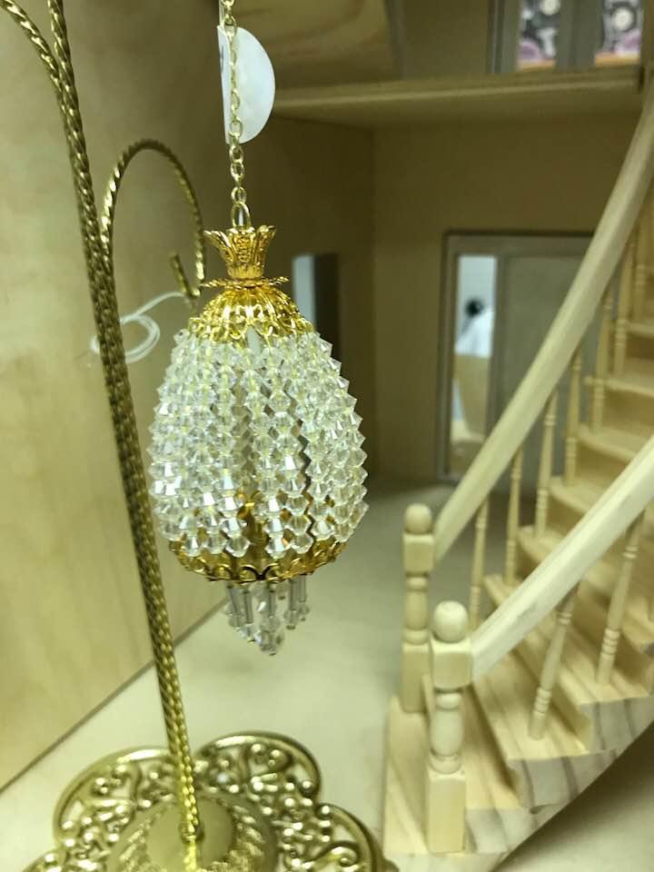 Austrian crystal chandelier circus dollhouse austrian crystal chandelier aloadofball Image collections